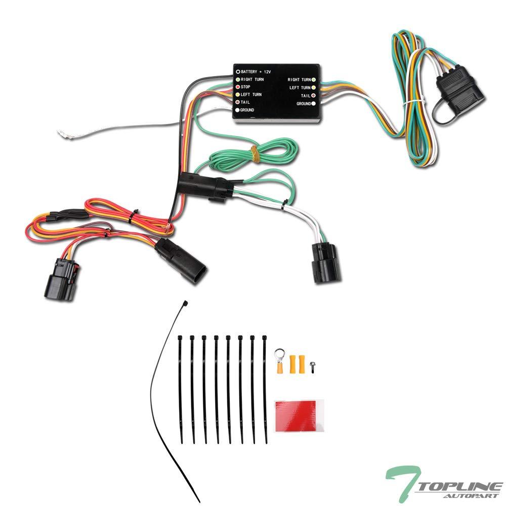 [DIAGRAM_38YU]  Amazon.com: Topline Autopart Trailer Tow Hitch 4 Way Flat Wiring Harness T- Connector For 11-14 Ford Edge: Automotive   T Connectors Wiring Harness      Amazon.com
