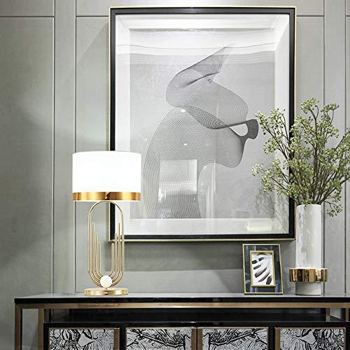 DKEE Lámparas de Mesa Lámpara de Mesa de Mesa Minimalista nórdica lámpara de Noche LED Creativo Hotel Modelo habitación Decorativa Mesa lámpara de Estudio lámpara de Ojo
