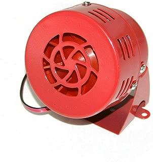 Boloromo 7482 Red Reversing Buzzer Beeper Alarm 12v Warning Reverse Back Up Van Trailer Bus