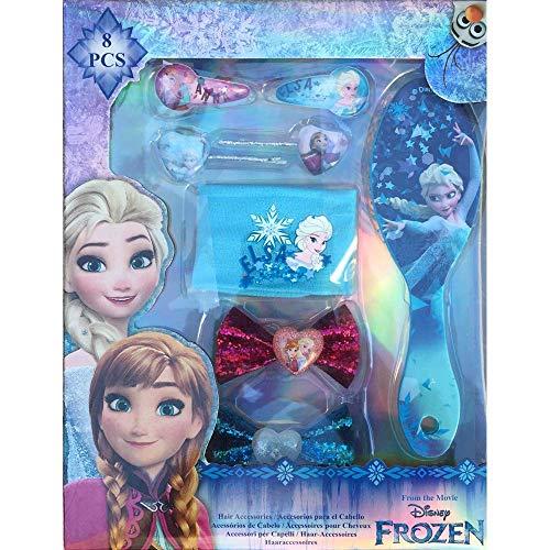 Disney Frozen Haarzubehör Set 8 teilig (Kids WDFR181)