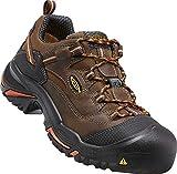 Keen Utility Men's Braddock Low Soft-Toe Work Boot, Cascade/Orange...
