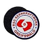 Copytec Patch DDR BSG Krenkraftwerk Greifswald Betriebssportgemeinschaft Ost 9cm #34141