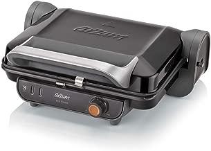 Arzum AR2005 Izgara Ve Tost Makinesi, Metal Plastik Teflon, Siyah