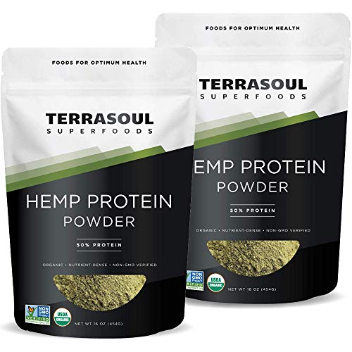 Terrasoul Superfoods Hemp Protein Powder