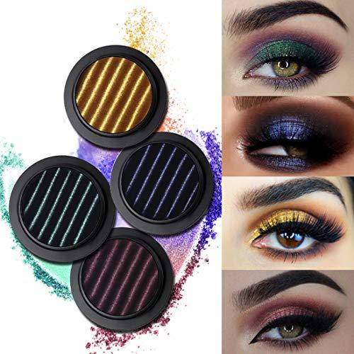 UCANBE BELLE Magnetic Glitter Palette de Fard à paupières de Maquillage de Shimmer Service fards à paupières en Poudre Pigments métalliques Nus Cosmétiques/Set