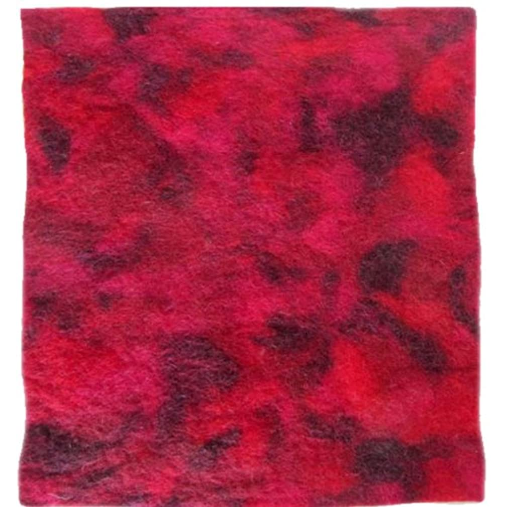 Dimensions Crafts 72-73995 Garnet Blended Wool Felt for Needle Felting