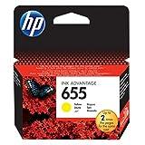 HP original - HP - Hewlett Packard Deskjet Ink Advantage (655/CZ 112{3515} AE) - cabezal de impresión amarillo - páginas{600}