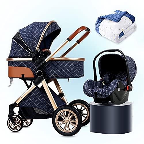 HHGO 3 In 1 Pushchair Stroller With Fan, Foldable Pushchairs & Prams...
