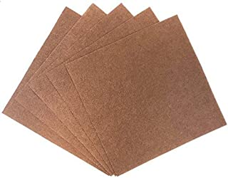 Just Artifacts 25pcs Craft Felt Sheets 12in x 12in Non Woven (Chocolate)