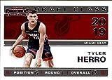 2019-20 Panini Contenders 2019 Draft Class Contenders #13 Tyler Herro Miami Heat NBA Basketball Trading Card