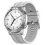 BNMY Smartwatch Reloj Inteligente con Pulsómetro Cronómetros Monitor De Sueño, Podómetro Pulsera Actividad Inteligente Impermeable IP67 Smartwatch Hombre Reloj Deportivo para Android iOS,C