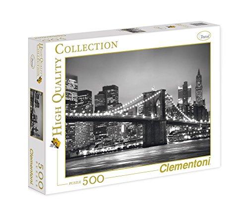 Clementoni - 30169.0 - Puzzle - New York - 500 Pièces