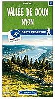 Vallée de Joux - Nyon 25 Wanderkarte 1:40 000 matt laminiert