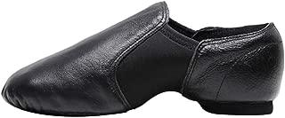 Fulision Adult-Unisex Solid Color Breathable Sole Jazz Dance Ballet Shoes