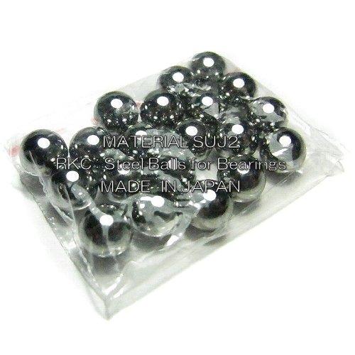 RKC 鋼球 1/4 20個 JIS規格 SUJ2 G28 6.35mm 132C