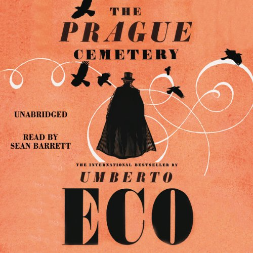 The Prague Cemetery audiobook cover art