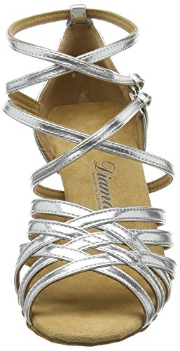 Diamant Diamant Latein Damen Tanzschuhe – Standard Latein Silber 108-087-013 - 2