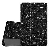 FINTIE SlimShell Funda para Samsung Galaxy Tab A 10.1 2016 - Súper Delgada y Ligera Carcasa con Función de Soporte y Auto-Reposo/Activación para Modelo SM-T580N/T585N, Constelación