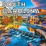 South Carolina Calendar 2022: 16-Month Calendar, Cute Gift Idea For South Carolina State Lovers, Women & Men