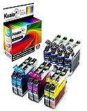 Koala 10 Druckerpatronen kompatibel für Brother LC123 LC-123 LC123xl für Brother MFC-J6520DW DCP-J4110DW MFC-J4710DW MFC-J4510DW DCP-J752DW MFC-J870DW MFC-J6720DW MFC-J4710DW