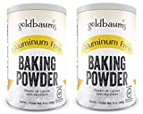 Goldbaums Baking Powder, Aluminum Free - Certified Gluten Free Baking Powder with Zero Cholesterol and Carbohydrates - Kosher Certified Bake Powder for Cooking - 8 Ounce (2 PACK)