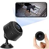 Mini Camara Espía Oculta,Cámaras Espía WiFi,1080P HD Cámaras Espía Inalámbrica Pequeña Cámara Oculta,Camaras de Seguridad Pequeña para Interior/Exterior