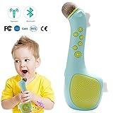 Termichy Micrófono Karaoke Inalámbrico para Niños, Bluetooth Altavoz Portatil para Escuchar Música Cantando en Cualquier Momento (Azul)