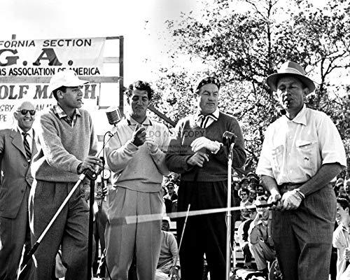 bucraft Jerry Lewis Dean Martin BOB Hope Bing Crosby at Golf Event - 8X10 Photo (ZZ-034)