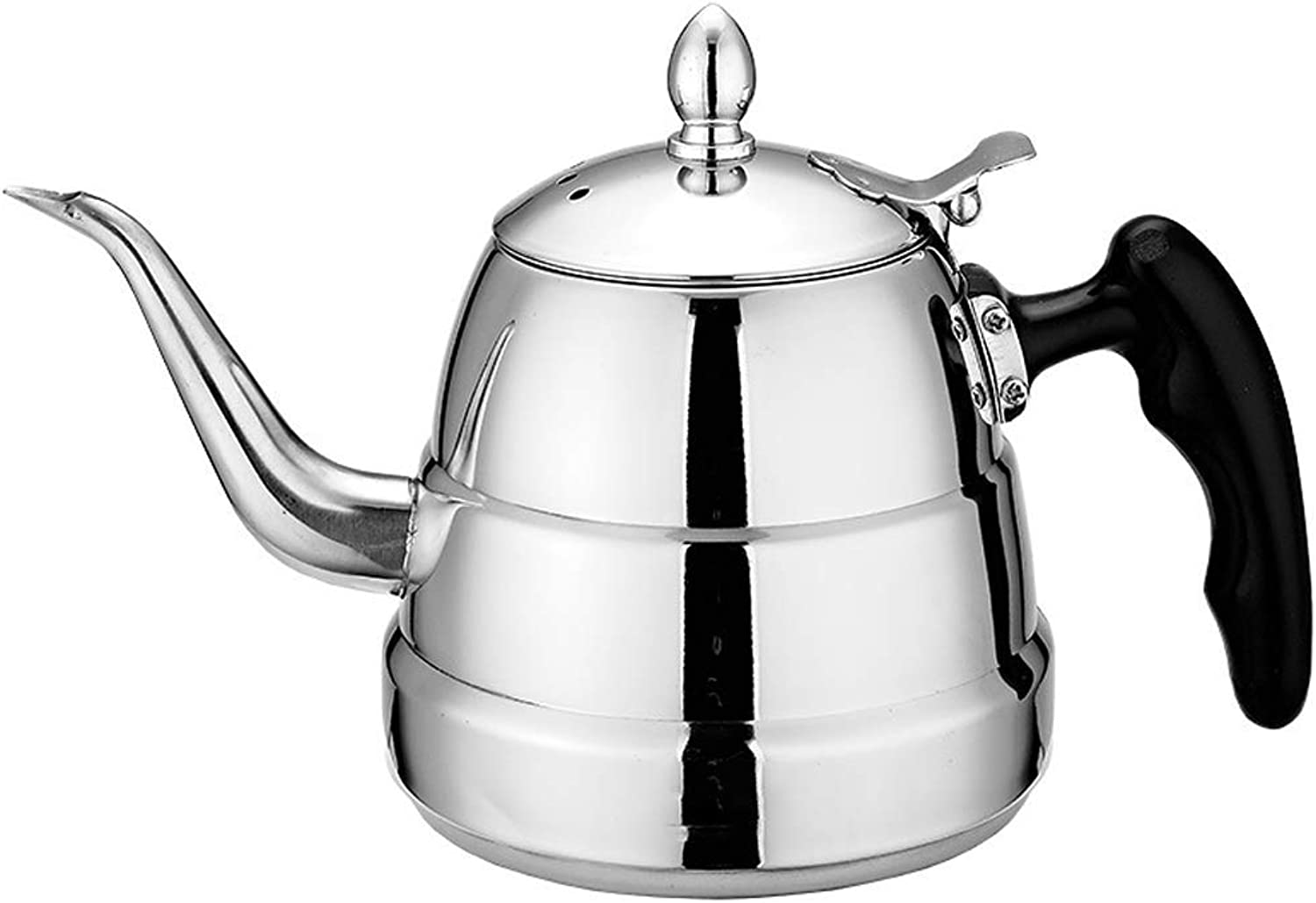 mejor precio SCJS Fashion Teapot Induction Cooker Kettle Tea Set Kettle Kettle Kettle Kettle with Strainer 1.2L Thickening  venta caliente