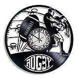 wtnhz LED-Schallplattenwanduhr Uhr Handgefertigt Vintage Moderne dekorative Vinyl...