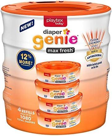 Playtex Diaper Genie Max Fresh 4 Refills product image