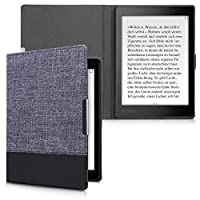 kwmobile 対応: Kobo Aura ONE ケース - キャンバス 電子書籍カバー - オートスリープ reader 保護ケース