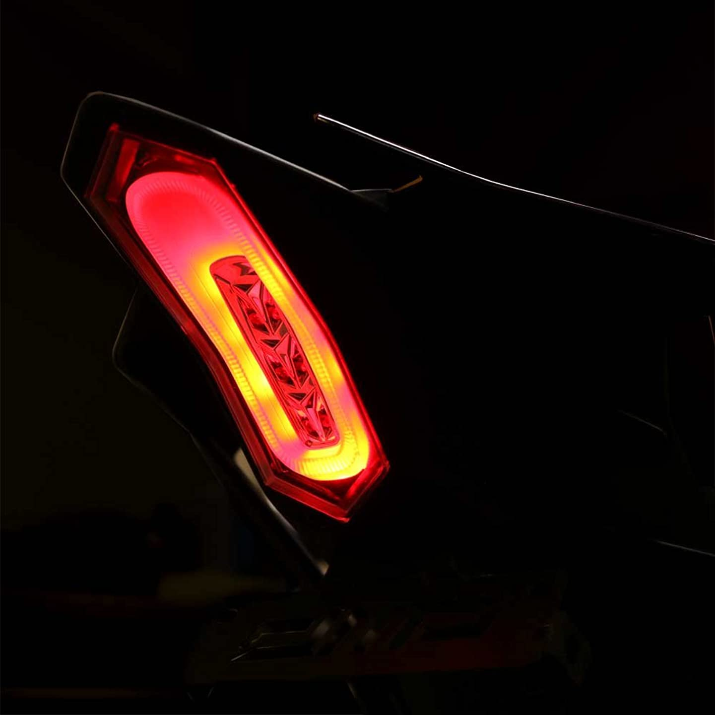 DMP 2015-2019 Yamaha YZF-R1 R1 YZF-R1M YZF-R1S 2017-2019 YZF-R6 R6 Clear Integrated LED Tail Light
