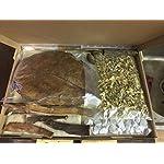 Wasseraufbereiter-Set-fr-natrlich-gesundes-Wasser-im-Aquarium-und-niedrigem-pH-Wert-Erlenzapfen-Seemandelbaumbltter-Montmorillonit-Zeolith-Seemandelbaumrinde-Saatmandel-Moringa