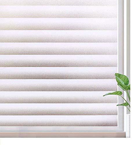 Happyroom Pellicola per Vetri Finestre,Pellicola Oscurante per Bagno Vetri,Autoadesive Anti-UV,per Ufficio Camera da Letto Sala di Riunione (60 * 300cm)