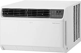 LG LW1817IVSM 18,000 BTU 220V Dual Inverter Remote Control Window Air Conditioner, White (Renewed)