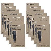 ケンウッド EMC-3(EMC3) 純正イヤホン付クリップマイクロホン 10個セット (UBZ-LK20,UBZ-LM20,UBZ-BG20R UBZ-BM20R,UBZ-S20,UBZ-BH47FR用)