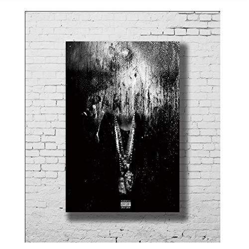 Poster und Drucke Big Sean Dark Sky Paradise LW-Leinwand Kunstplakat Leinwandmalerei Wohnkultur Druck auf Leinwand-50x70cm Kein Rahmen