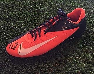 Authentic Autographed Ed Mccaffrey Nike Vapor Pro Football Cleat Shoe JSA/COA M90342 Broncos