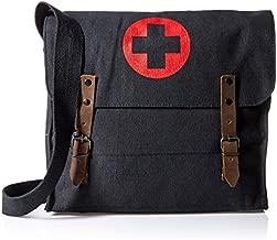 Rothco Canvas Nat Medic Bag, Black