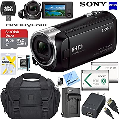 Sony Handycam CX405 Flash Memory Full HD Camcorder from Sony