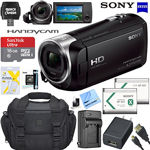 Sony Handycam CX405 Flash Memory Full HD Camcorder