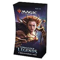 マジック: ザ・ギャザリング コマンダー レジェンド ブースタードラフトパック   カード60枚   1パックに2つの伝説
