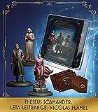 Knight Models Juego de Mesa - Miniaturas Resina Harry Potter Muñecos Theseus Scamander Leta Lestrange Nicolas Flamel Exp Version Inglesa