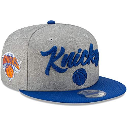 New Era - NBA New York Knicks 2020 Draft Edition 9Fifty Snapback Cap - Grau-Blau Farbe Grau-Blau, Größe M-L