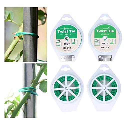 Demeras Twist Tie, Conveniente Corbata multipropósito para Plantas para el hogar