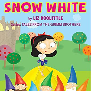 Snow White: The Grimm Brothers Tales 2 audiobook cover art