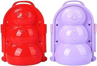 TiKiNi Snöboll tillverkare verktyg, 1 st. vinterform plast snöboll verktyg klämma giftfri rolig barn utomhus leksak vinter...