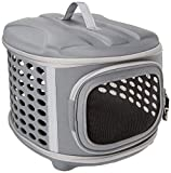 image of unique hard cover dog carrier