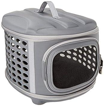 PET MAGASIN Cage de Transport Pliable pour Chat avec Chargement par Dessus et Fonction Pliable pour Chats, Petits Chiots et Lapins